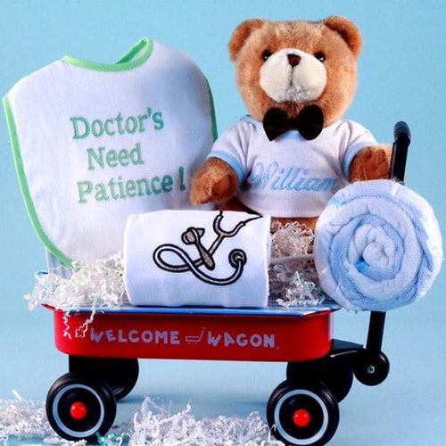 Personalized Doctor's Need Patience Welcome Wagon