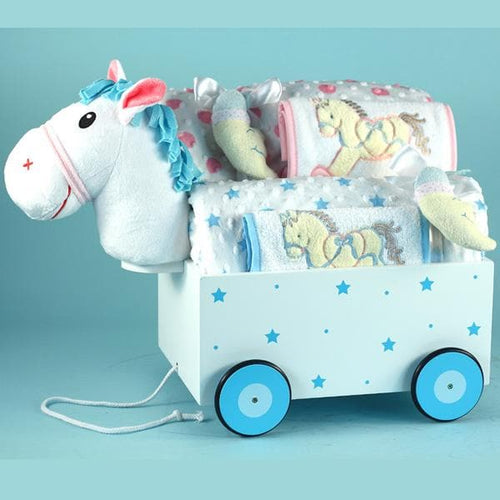 Pony Welcome Wagon Baby Gift for Twins