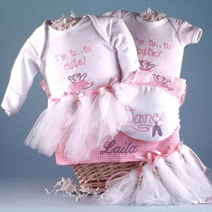 Personalized Tu Tu Cute Little Princess Gift Basket