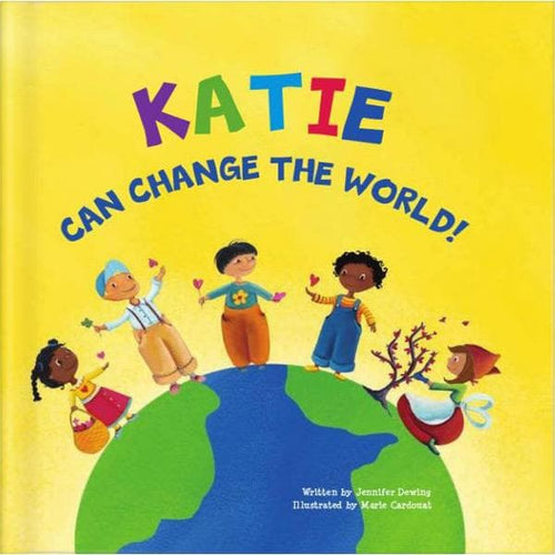 I Can Change The World Personalized Storybook