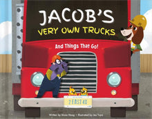 Load image into Gallery viewer, My Very Own Trucks Personalized Storybook