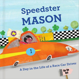 Speedster Personalized Storybook