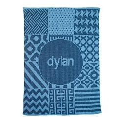 Personalized Patchwork Stroller Blanket (Many Colors Available)