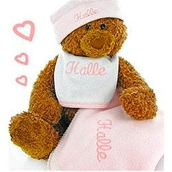 Personalized Gund Bear Cutie Collectible Set  (Multiple Colors Available)