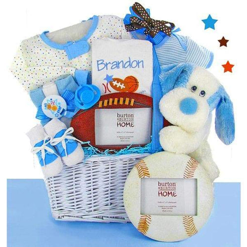 Personalized All Star Gift Basket - Boy