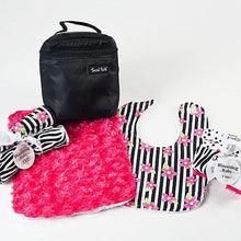 Load image into Gallery viewer, Zahara Black & Hot Pink Meal Time 8-Piece Gift Set