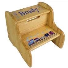 Load image into Gallery viewer, Personalized Big Stepper Stool-Many Designs Available