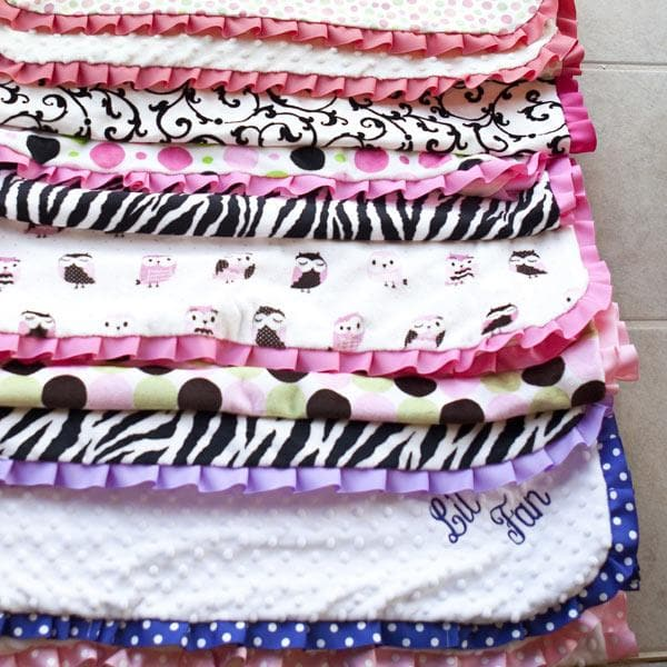 Bodacious Baby Blanket for Girls (Personalization Available)