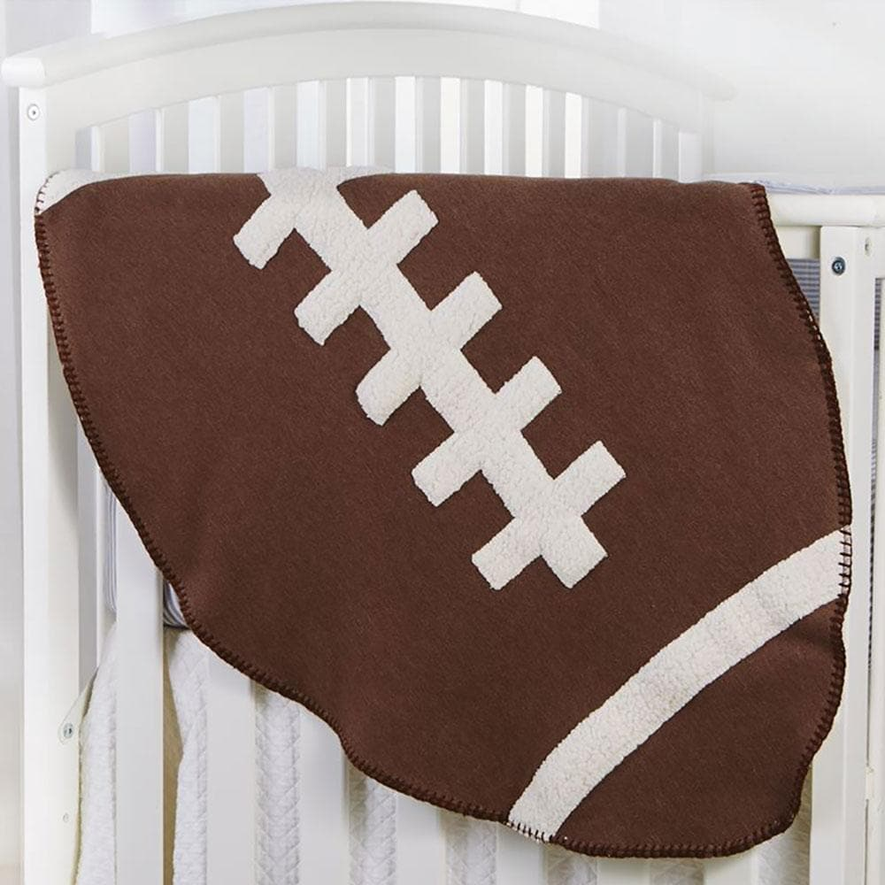Football Sherpa Blanket