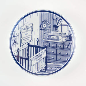 Personalized Birth Plate