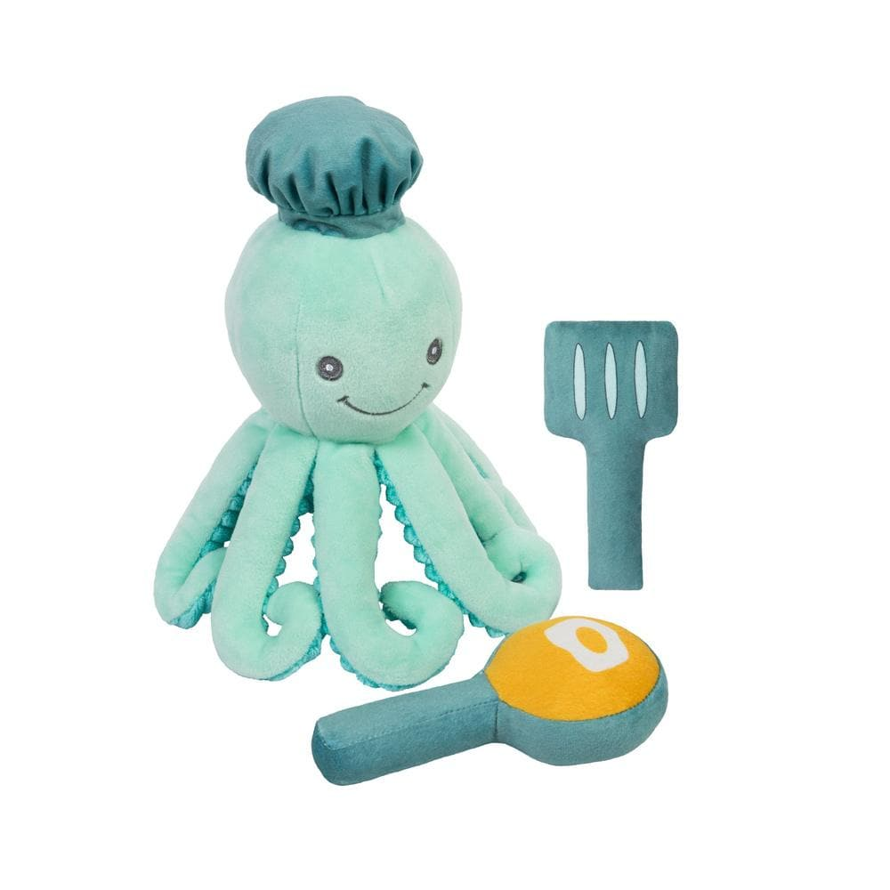 Octopus Chef 3-Piece OccuPLAYtion Baby Gift Set