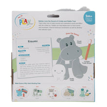 Load image into Gallery viewer, Hippopotamus Dentist 3-Piece OccuPLAYtion Baby Gift Set