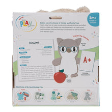 Load image into Gallery viewer, Owl Teacher 3-Piece OccuPLAYtion Baby Gift Set