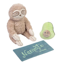 Load image into Gallery viewer, Sloth Life Coach 3-Piece OccuPLAYtion Baby Gift Set