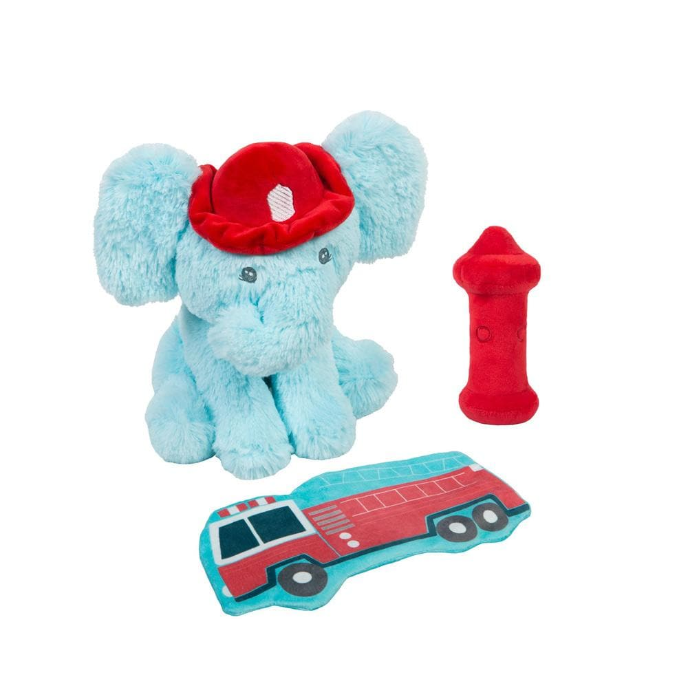 Elephant Firefighter 3-Piece OccuPLAYtion Baby Gift Set