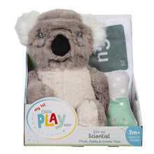 Load image into Gallery viewer, Koala Bear Scientist 3-Piece OccuPLAYtion Baby Gift Set