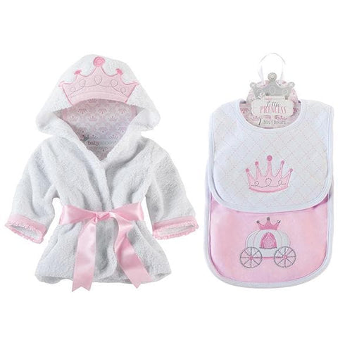 Princess Gift Set wtih Princess Robe and Princess Bibs