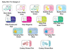 Load image into Gallery viewer, Baby Shower Personalized Mint Tins - Large