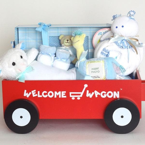 Forever Baby Welcome Wagon - Boy