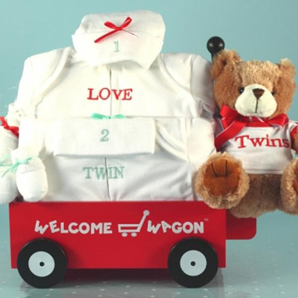 Better Together Twins Baby Welcome Wagon