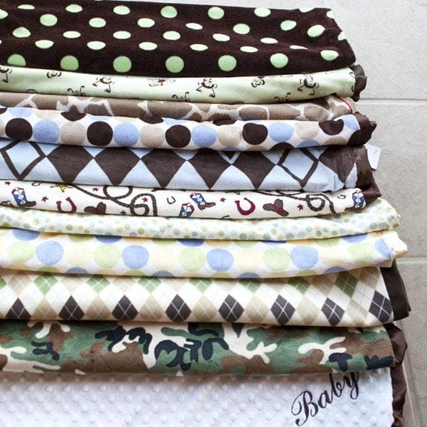 Bodacious Blanket for Boys (Personalization Available)