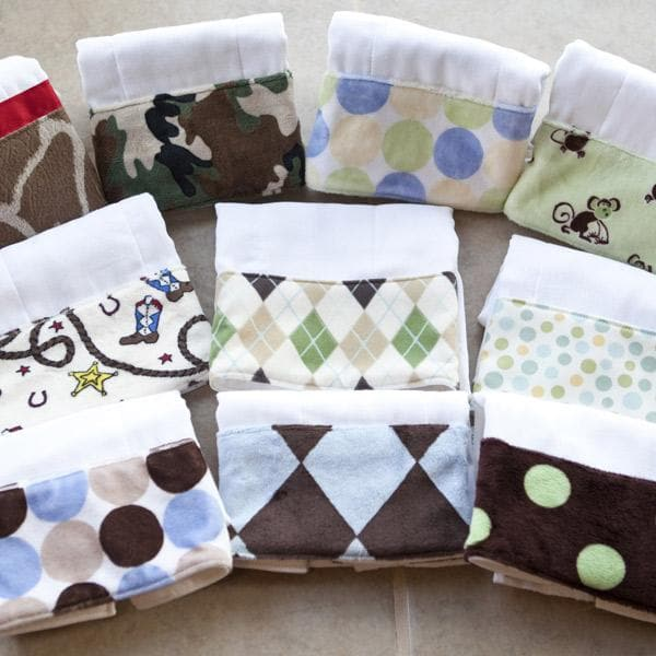 Bodacious Burp Cloth for Boys
