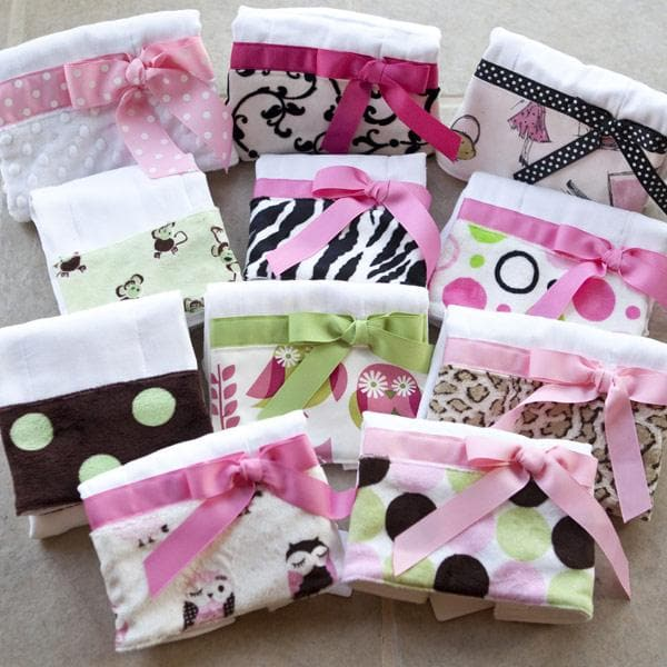 Bodacious Burp Cloth for Girls