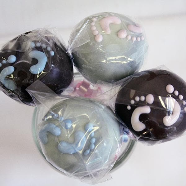 Baby Feet Cake Pop Favors