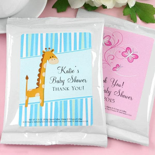 Personalized Exclusive Baby Coffee Favor (Many Designs Available)