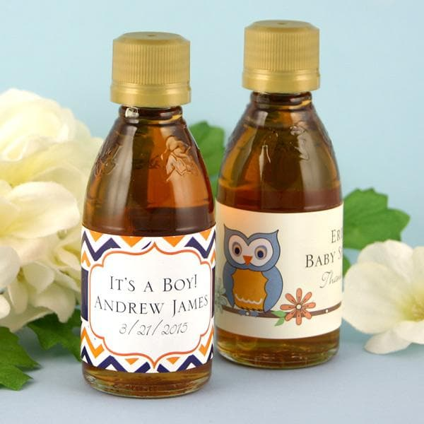 Personalized Exclusive Baby Maple Syrup (Many Designs Available)