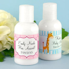 Load image into Gallery viewer, Personalized Exclusive Baby Hand Lotion (Many Designs Available)