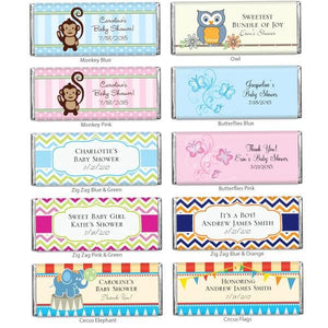 Personalized Exclusive Baby Hershey Wrappers (Many Designs Available)