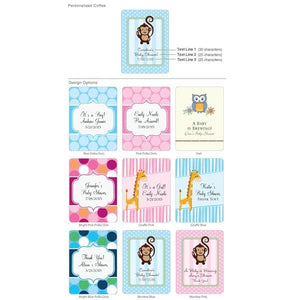 Personalized Exclusive Baby Gourmet Coffee (Many Designs Available)