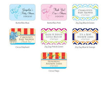 Load image into Gallery viewer, Personalized Exclusive Matchbox Baby Shower Favors