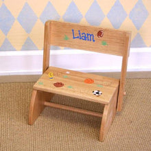 Load image into Gallery viewer, Personalized My Own Steppy Stool/Chair