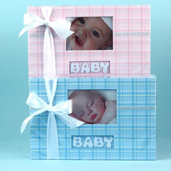 Personalized Bib Set and Deluxe Photo Album