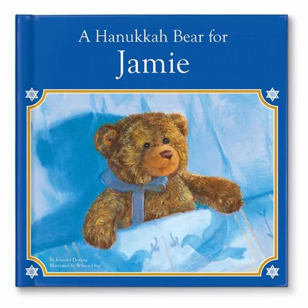 A Hanukkah Bear for Me Personalized Book