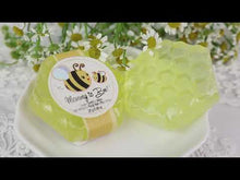 Load and play video in Gallery viewer, Mommy To Bee Honey-Scented Honeycomb Soap