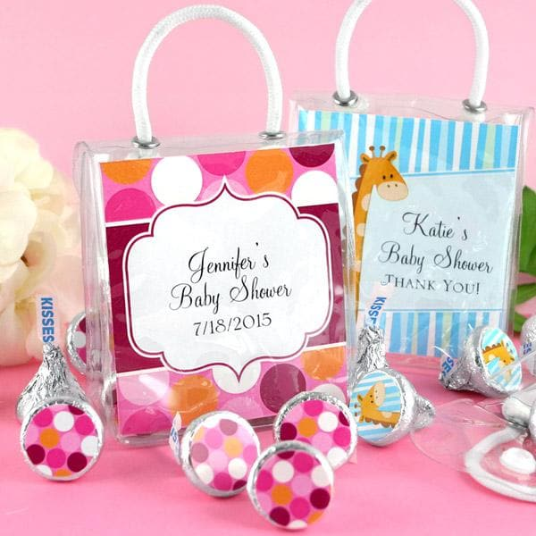 Personalized Exclusive Baby Mini Gift Tote (Many Designs Available)