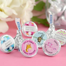 Load image into Gallery viewer, Personalized Exclusive Baby Hershey Kisses (Many Designs Available)