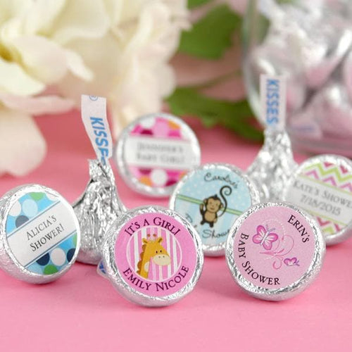 Personalized Exclusive Baby Hershey Kisses (Many Designs Available)