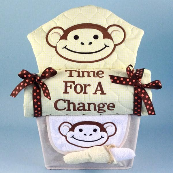 My Little Monkey Baby Gift Basket