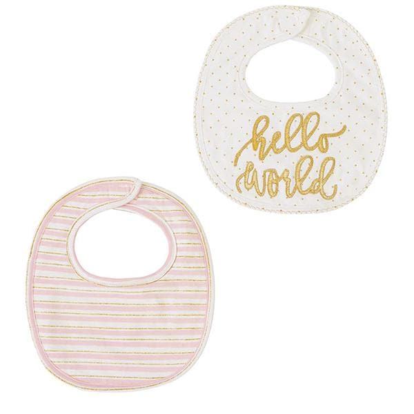 Hello World Bibs (Set of 2)