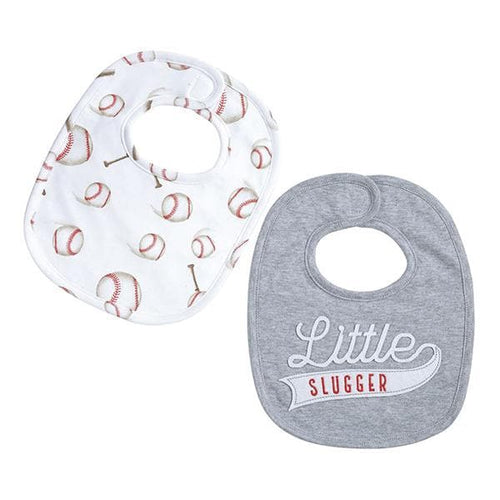 Baseball Little Slugger Bibs (Set of 2)