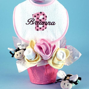Personalized Pots of Luck Baby Gift Set