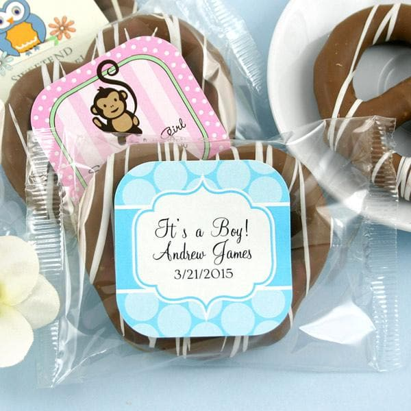 Personalized Exclusive Baby Gourmet Pretzels (Many Designs Available)
