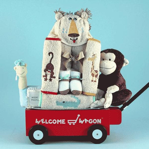 Welcome Wagon Baby Gift - Safari