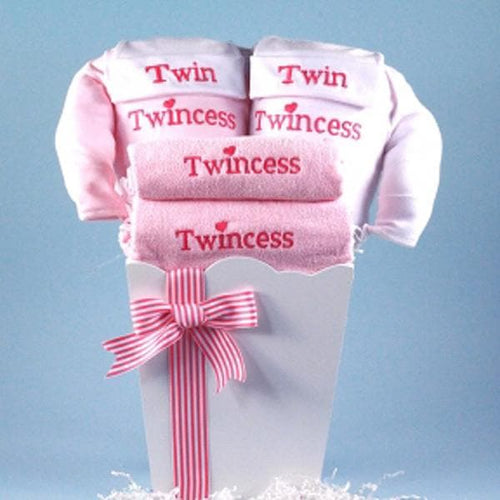 Twincess Twin Baby Gift - Girl