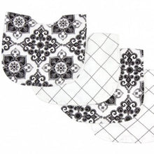 Load image into Gallery viewer, Versailles Black & White Mealtime 9-Piece Gift Set