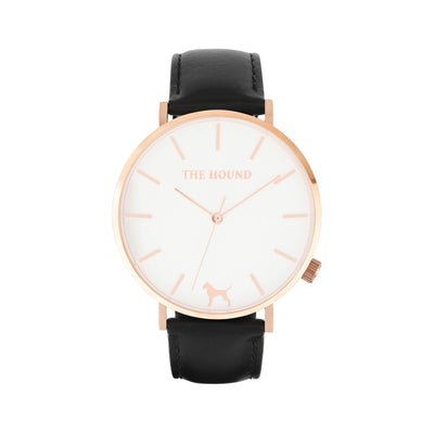 White Rose Watch<br>+ Black Leather Band<br>+ Tan Leather Band